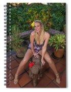St Lucia Darcy 36 Spiral Notebook