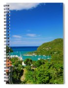 St. Lucia  Spiral Notebook