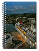 St. Lucia In The Evening Spiral Notebook