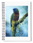 St. Lucia Parrot - Majestic Spiral Notebook