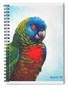 St. Lucia Parrot Spiral Notebook