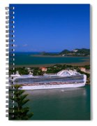 St. Lucia Port Spiral Notebook