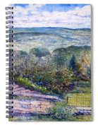 St Martin De Castillon Luberon France 2004  Spiral Notebook