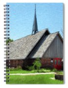 St Martin Of Tours Spiral Notebook