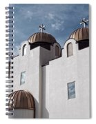 St Mary And St Abraam Coptic Orthodox Church Spiral Notebook