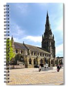 St Mary's Church At Lichfield Spiral Notebook