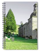 St Mary's Church At Mapleton Spiral Notebook