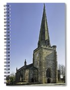 St Mary's Church At Uttoxeter Spiral Notebook
