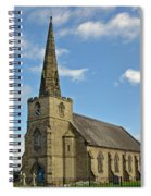 St Mary's Church - Coton In The Elms Spiral Notebook