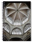St. Mary's Dome And Windows, Valencia, Spain Spiral Notebook