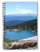 St Marys Glacier Colarado Usa Spiral Notebook