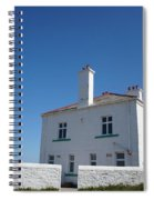 St. Mary's Island And The Lighthouse. Spiral Notebook