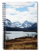 St. Mary's Lake Spiral Notebook