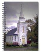 St. Mathews Chapel In Sugar Hill Spiral Notebook