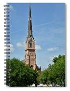 St. Matthew's German Evangelical Lutheran Church In Charleston Spiral Notebook