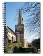 St Michael And All Angels Church -- Little Bredy Spiral Notebook