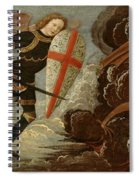 St. Michael And The Angels At War With The Devil Spiral Notebook