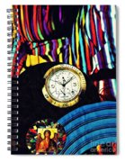 St Michael At The Gates Of Time Spiral Notebook