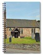 St Michael's Church At Willington Spiral Notebook