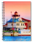 St. Michael's Lighthouse Spiral Notebook