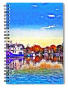 St. Michael's Marina Spiral Notebook