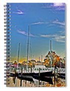 St. Michael's Marina On The Chesapeake Spiral Notebook