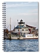 St Michael's Maryland Lighthouse Spiral Notebook