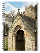 St Mylor And Bell Tower Spiral Notebook
