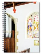 St Mylor Organ Pipes Spiral Notebook