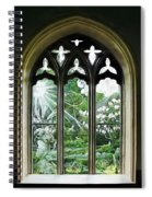 St Nicholas And St Magnus Church Window - Impressions Spiral Notebook