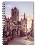 St. Nicholas Church, Gent Spiral Notebook