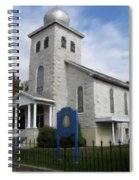 St Nicholas Church Saint Clair Pennsylvania Spiral Notebook