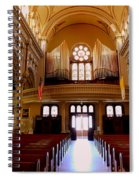 St. Nicholas Of Tolentine Church - Iv Spiral Notebook