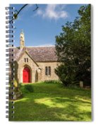 St Oswald's Church Entrance Spiral Notebook
