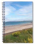 St Ouen's Bay Jersey Spiral Notebook