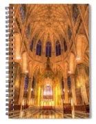 St Patrick's Cathedral Manhattan New York Spiral Notebook
