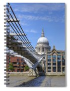 St Paul's Cathedral Spiral Notebook