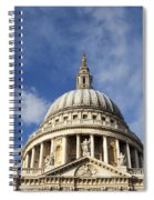 St Pauls Cathedral London England Uk Spiral Notebook