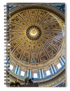St. Peters Inside The Dome Spiral Notebook