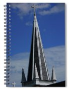 St. Peter's Roman Catholic Church's Steeple In Harpers Ferry Spiral Notebook