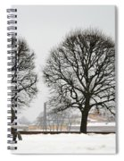 St. Petersburg - Winter Spiral Notebook