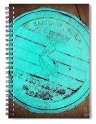 St Petersburg Manhole Spiral Notebook
