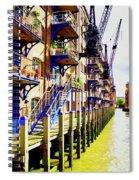 St Saviours Wharf Spiral Notebook