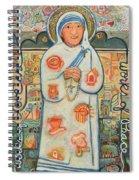 St. Teresa Of Kolkata Spiral Notebook