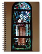 St. Theresa Stained Glass Window Spiral Notebook