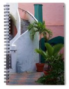 St. Thomas Courtyard Spiral Notebook
