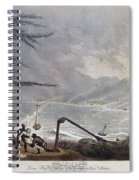 St. Thomas: Hurricane, 1819 Spiral Notebook