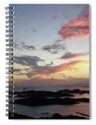St. Thomas Sunset Spiral Notebook