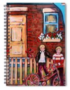 St. Urbain Street Boys Spiral Notebook
