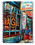 St. Viateur Bagel Bakery Spiral Notebook